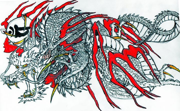 Dragon. - My Art - F.M