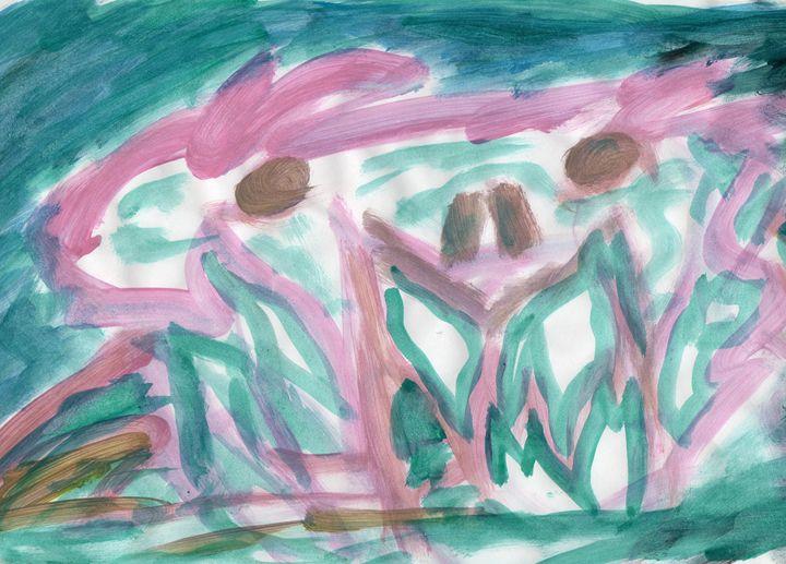 Pink Crab - My Art - F.M