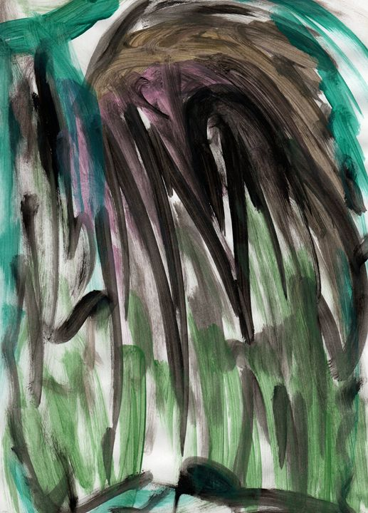 Water Jungle Fall - My Art - F.M