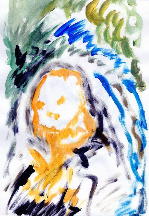 Skull Storm - My Art - F.M