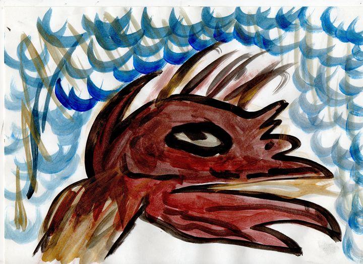 Pet Me - Acrylic on paper. - My Art - F.M