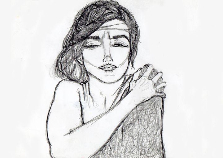 Marilyn Monroe - Illustration - My Art - F.M
