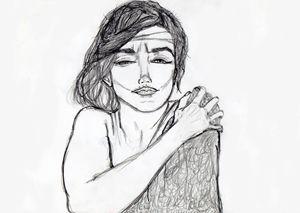 Marilyn Monroe - Illustration