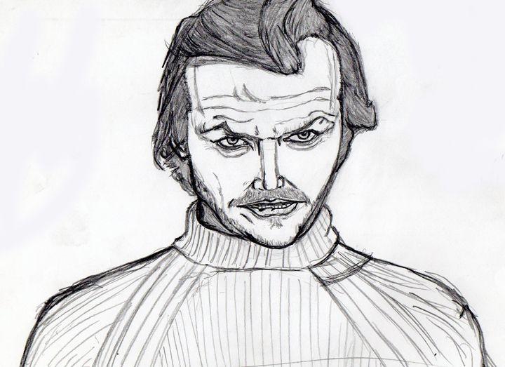 Jack Nicholson In The Shining. - My Art - F.M