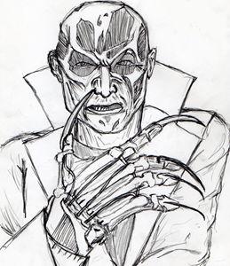 Freddy Krueger from A New Nightmare.