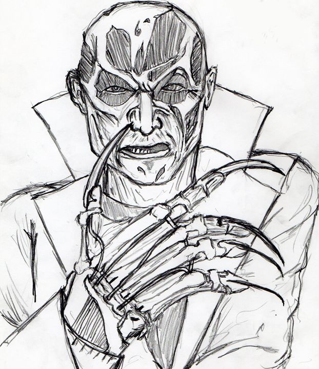 Freddy Krueger from A New Nightmare. - My Art - F.M