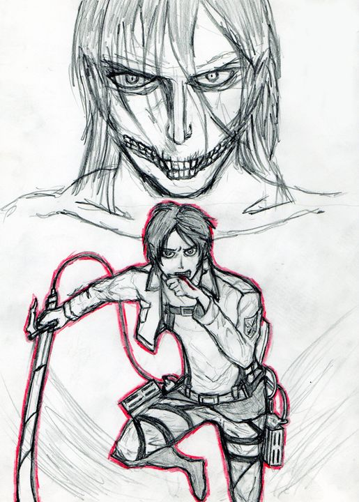 Shingeki No Kyojin - My Art - F.M