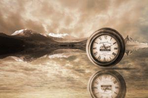Mountain Clock - Photography Prints