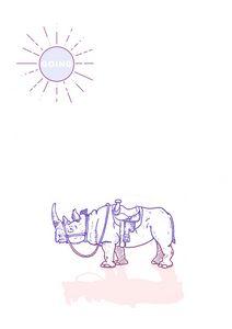 Rhino saddale