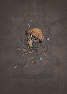 Jellyfish vs the bubble.