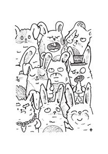 A fluffle of rabbits