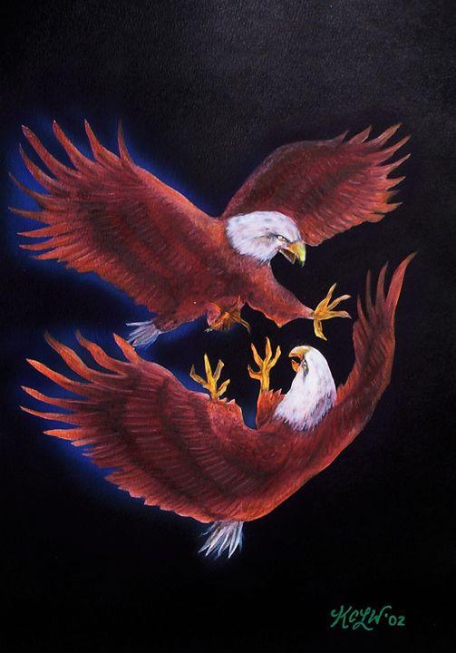 Eagle Mates - The KC Krimsin Kollection