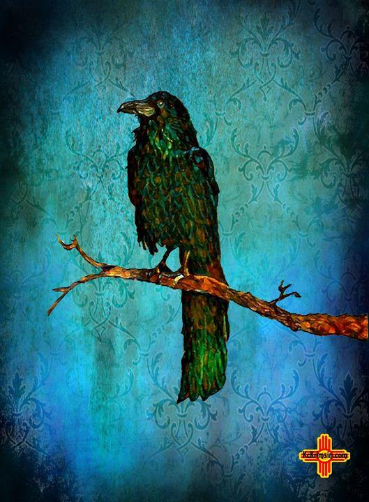 Emerald Raven by KC Krimsin - The KC Krimsin Kollection