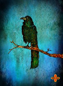 Emerald Raven by KC Krimsin