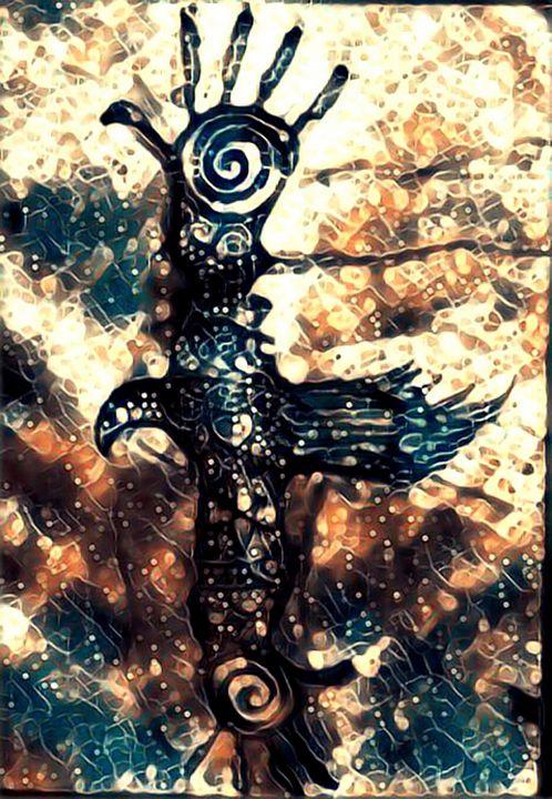 The Cosmic Crow by KC Krimsin - The KC Krimsin Kollection