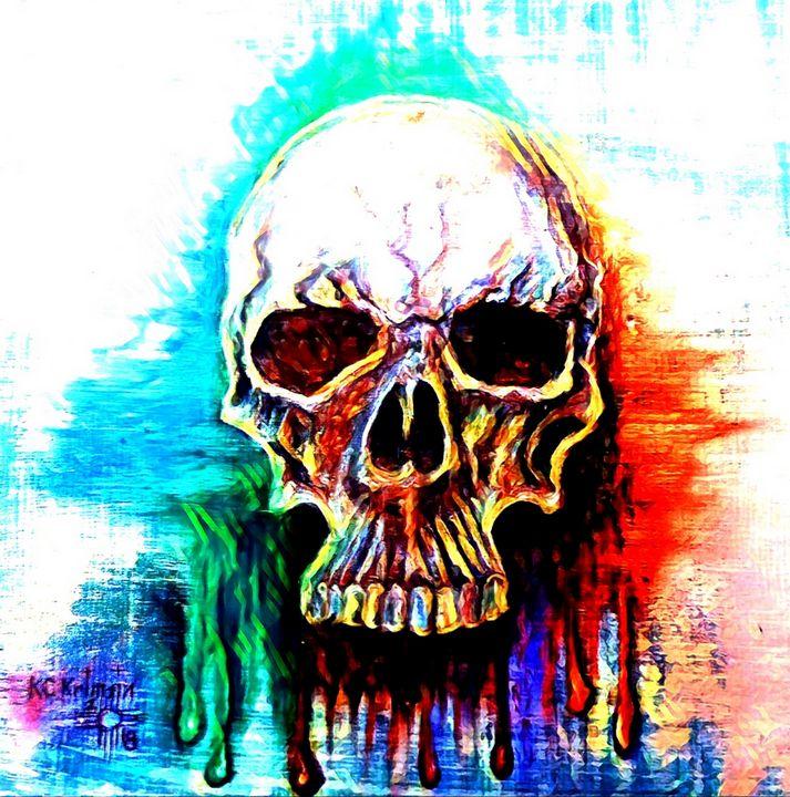 Skullfitti by KC Krimsin - The KC Krimsin Kollection