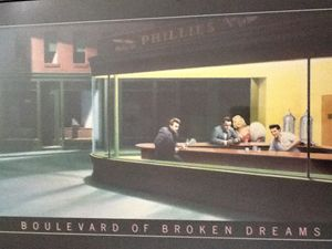 Boulevard of Broken Dreams (replica)