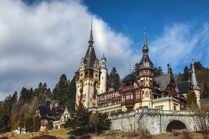 Peles Castle in Romania - Alexandru Busca