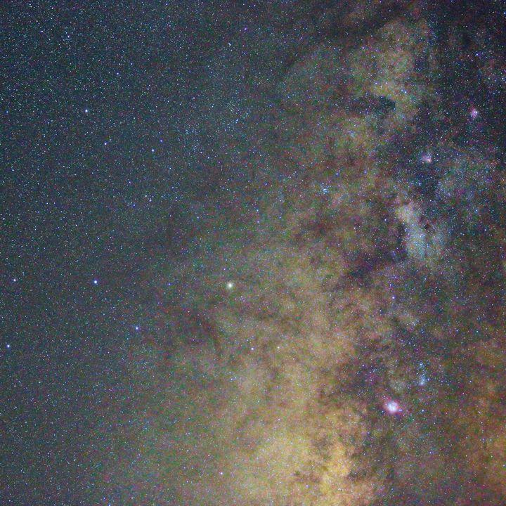 Milky Way star cloud - 4 AM Photography