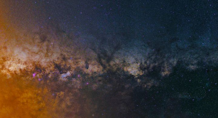 Milky Way Mosaic - 4 AM Photography