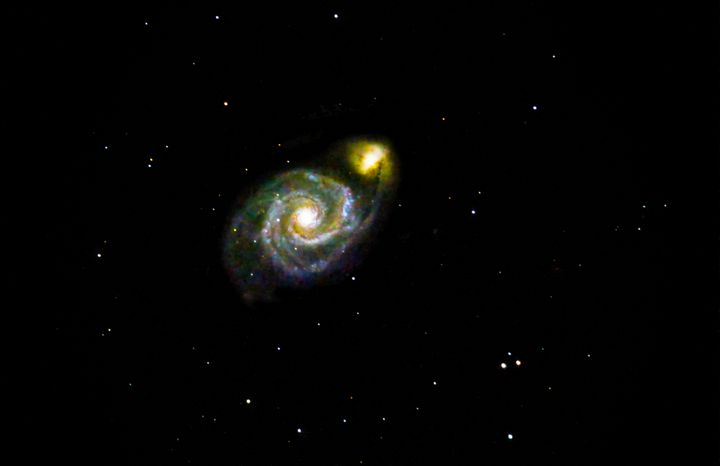 Whirlpool Galaxy M51 with companion - 4 AM Photography