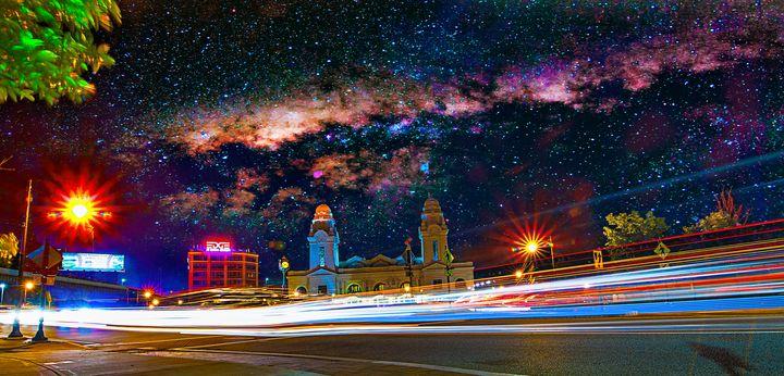Union Station Milky Way Fantasy - 4 AM Photography