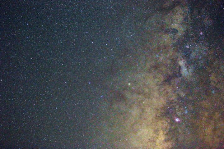Star Cloud Milky Way 2x3 - 4 AM Photography