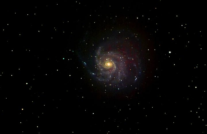 M101 Spiral Galaxy - 4 AM Photography