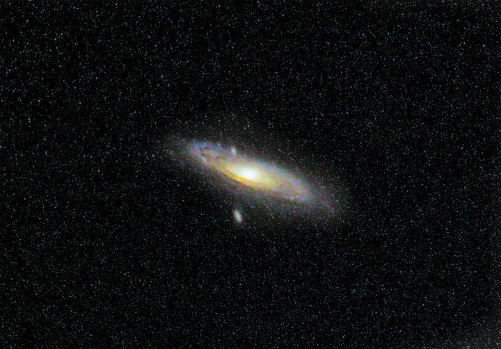 Andromeda Galaxy - 4 AM Photography