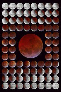 Lunar Eclipse Time-Lapse series