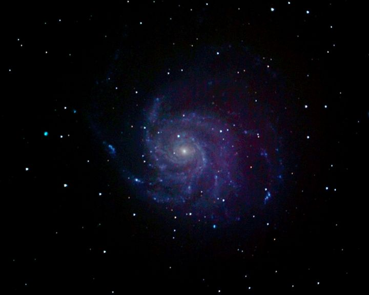 M101 Pinwheel Galaxy - 4 AM Photography