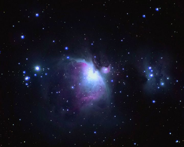 Orion Nebula Wide Field - 4 AM Photography