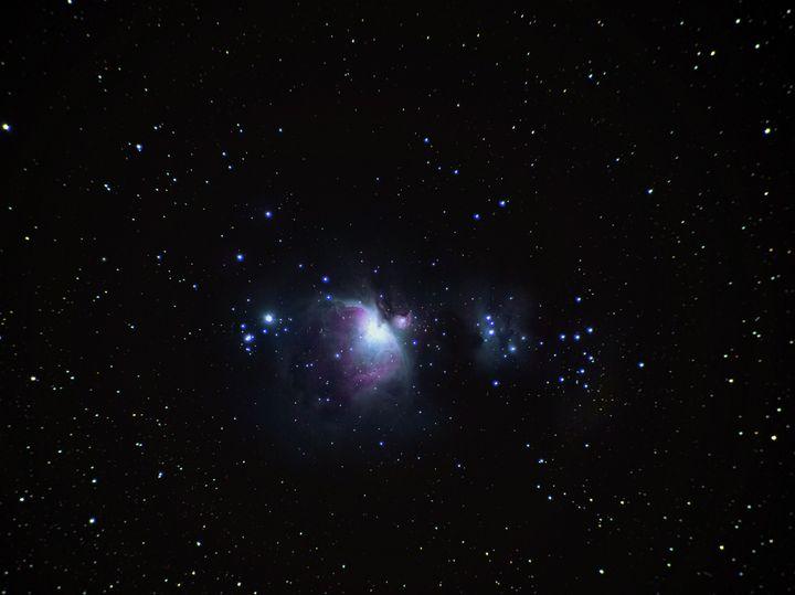 Orion Nebula Wide Field - 4 AM Photography