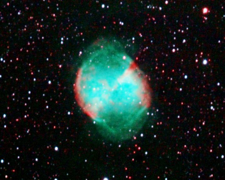 Dumbbell Nebula - 4 AM Photography