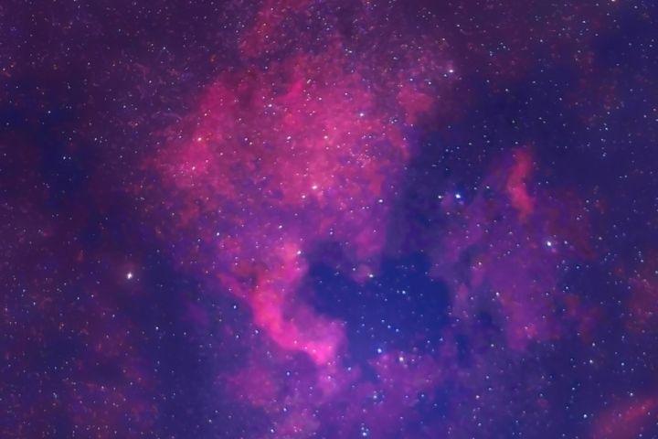 North America Nebula NGC 7000 - 4 AM Photography