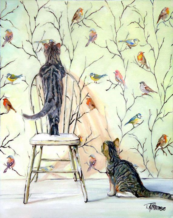 A Closer Look - T.A.Matthews - The Cat Gallery