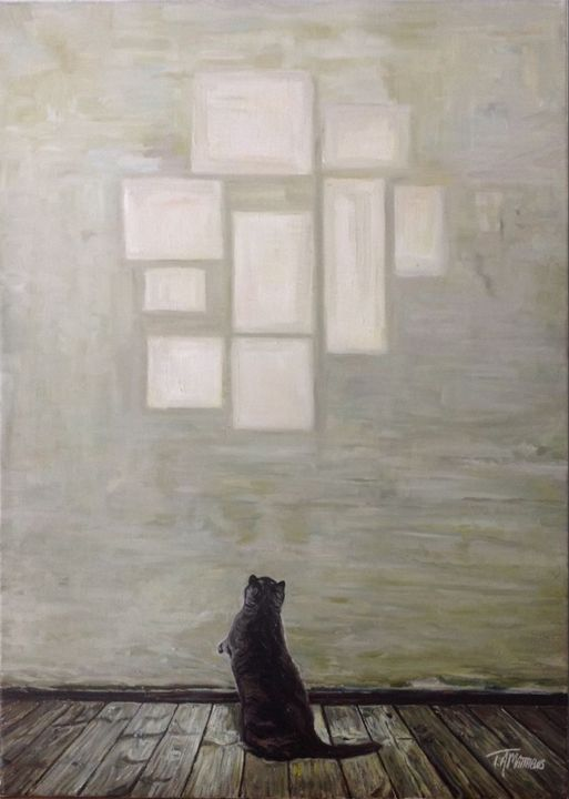 Feline Feeling #2 - T.A.Matthews - The Cat Gallery