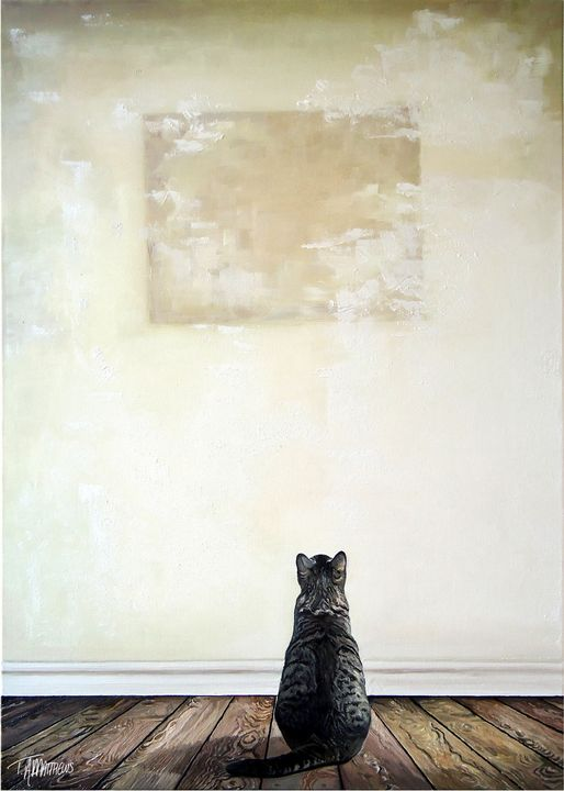 Feline Feeling #1 - T.A.Matthews - The Cat Gallery