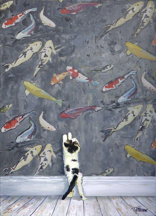 Curious kitten - T.A.Matthews - The Cat Gallery