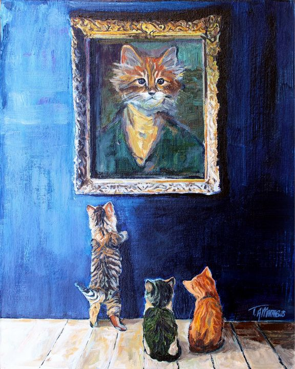Kitty Esquire - T.A.Matthews - The Cat Gallery