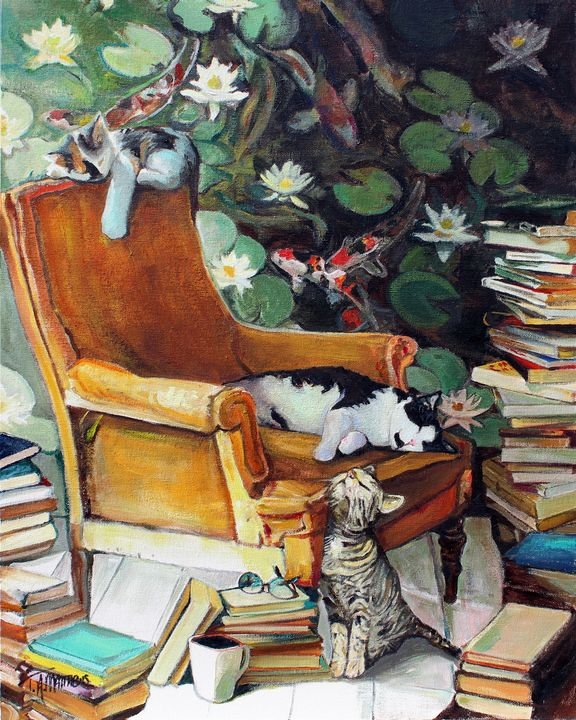 Literately Lazy #5 - T.A.Matthews - The Cat Gallery