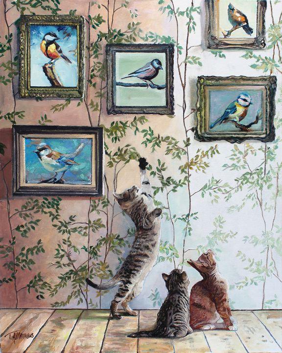 The Art of Birdwatching - T.A.Matthews - The Cat Gallery