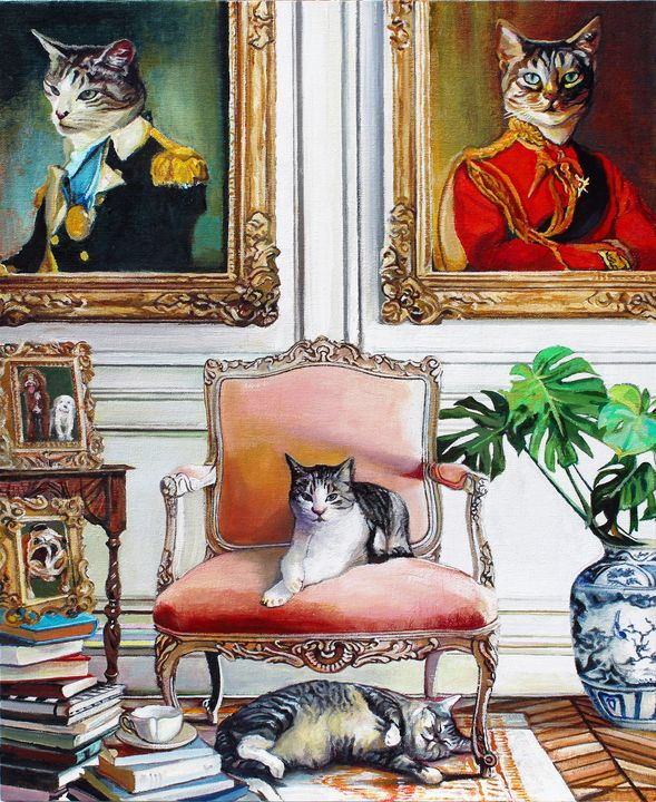 Charlie & Henderson - T.A.Matthews - The Cat Gallery
