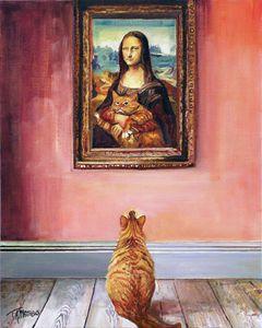 Mona Lisa's Kitty