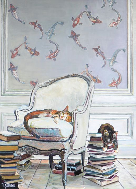 Literately Lazy Two - T.A.Matthews - The Cat Gallery
