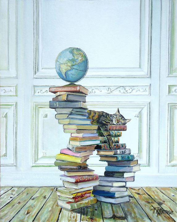Around the World in 80 Catnaps - T.A.Matthews - The Cat Gallery