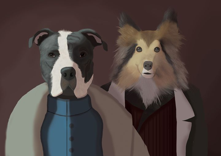 Dogs in Suits - Magic Frames