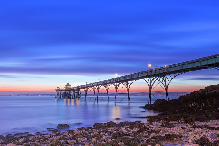 Clevedon At Night - Rich Wiltshire