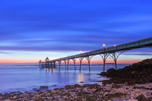 Clevedon At Night