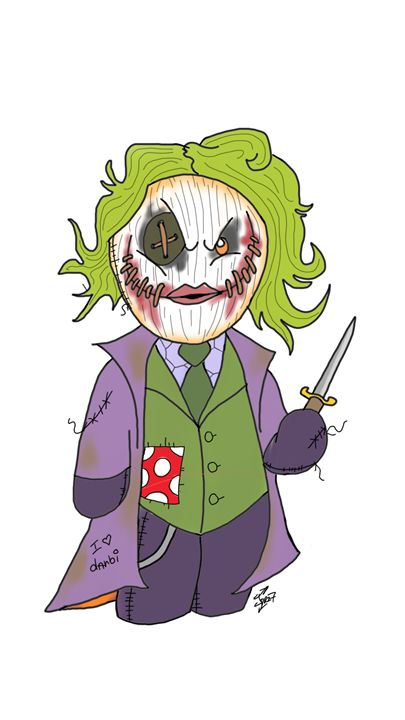 JOKER RAG DOLL (DARK KNIGHT) - Dannyz World